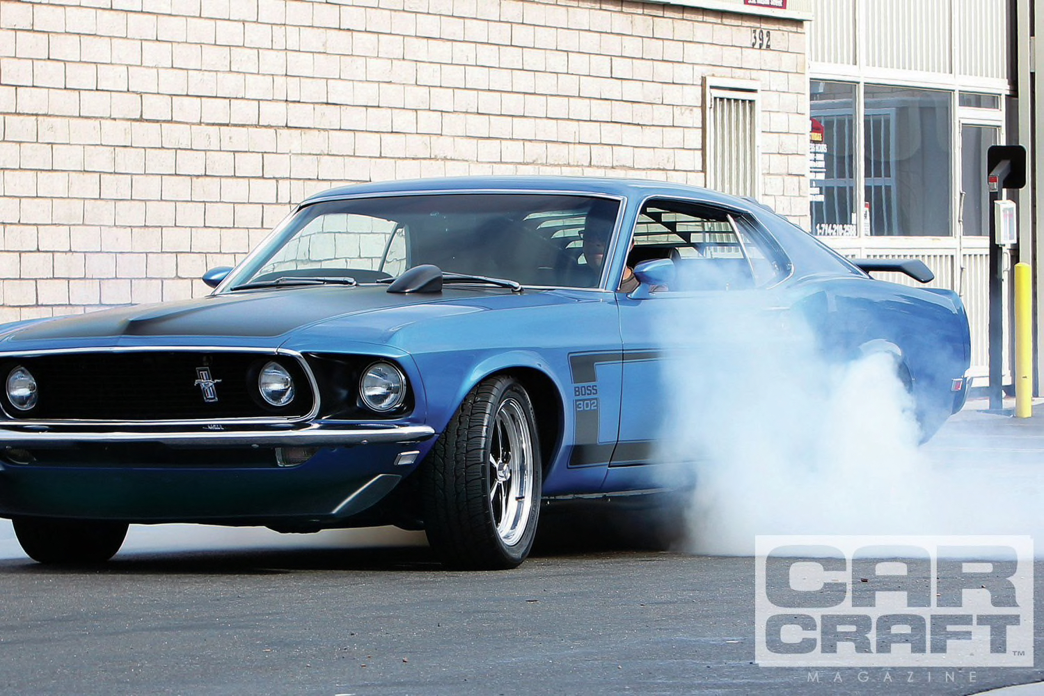 1969 Ford Mustang Boss 302 – Mr  Nasty – MASCAR CLASSICS